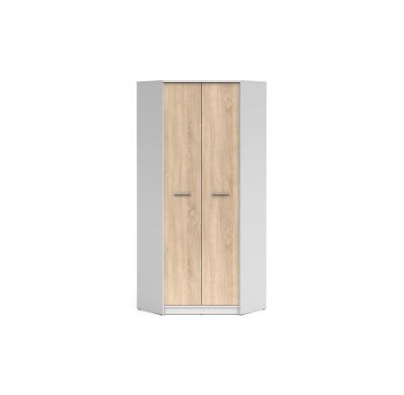 Rohová šatní skříň NEPO SZFN2D