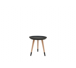 stolek LAWA 024 (TXL024)  černá/buk přírodní (TX058/TX002)***