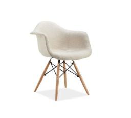 Jídelní židle BONO, béžová/buk