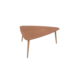stolek TRIANGO L  modřín sibiu zlatý (TX118)