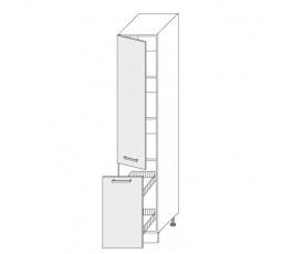 PLATINUM - dolní skříňka  40cm 2D14k/40