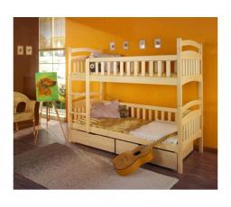 Dětská patrová postel z masivu DOMINIK