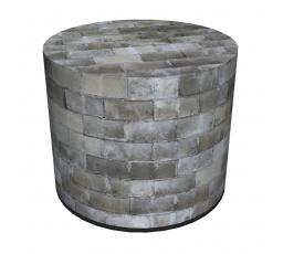 COLOURS taburet - PU15 - Urban-(Dlažba šedá) - (AR) (Z)