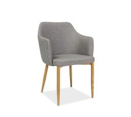Jídelní židle ASTOR, šedá