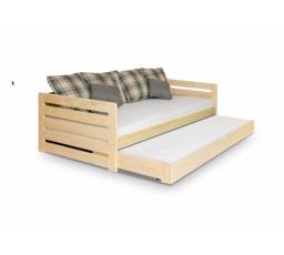 Dětská postel z masivu RODOS