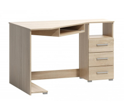 Rohový psací stůl Fatra 18 pravý dub sonoma