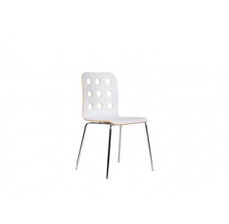 Židle CANTONA STOP bílá