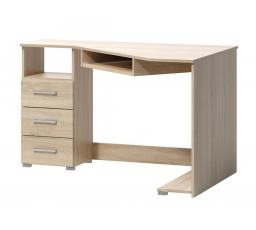 Rohový psací stůl Fatra 17 levý dub sonoma