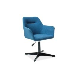 Jídelní židle KUBO, modrá/černá