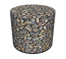 COLOURS taburet - PU12 - kamínky - (AR) (Z)