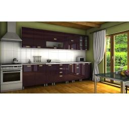 Kuchyňská linka Granada KRF 300 fialový lesk