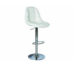 C-198 barová židleeco  krémová/chrom (KROC198K) (S) (K150-Z)