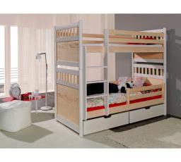 Dětská patrová postel z masivu SALOMON