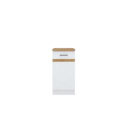 Junona Line skříňka D1D/40/82-P bílá/bílý lesk