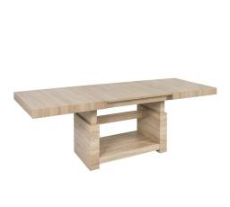 stolek HEZE MAX dub sonoma (rozklad: 220 cm délka - 80,5 cm výška)