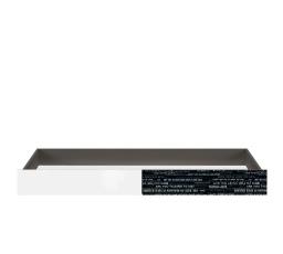 GRAPHIC (S343) SZU/C šedý wolfram/černá s potiskem/bílý lesk (laminát)