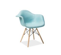 Jídelní židle BONO, máta/buk