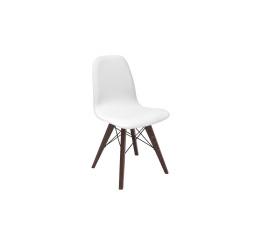 židle ULTRA (TX1089) bílá/dub wenge hnědý ( k AZTECE )