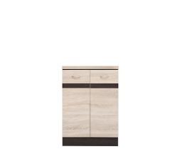 Kuchyně Junona Line, spodní skříňka D2D/60/82 wenge/dub sonoma