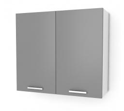 Kuchyňská skříňka Natanya G802D šedý lesk