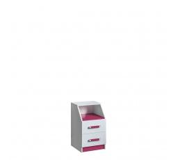 TRUFEL 15 - Kontejner  (Trafiko 15) - bílá/růžová (DO) (K150-Z)