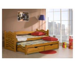 Dětská postel z masivu MIKULÁŠ
