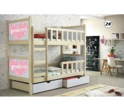 Patrová postel PINOKIO 2 - Borovice