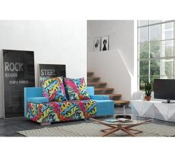 Pohovka ROCK 3DL - Modrá