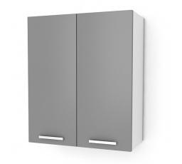 Kuchyňská skříňka Natanya G602D šedý lesk