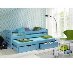 Dětská postel z masivu TOMÁŠ II