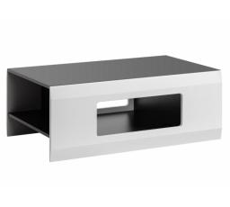 CLIF B - Konferenční stůl / grafit+bílý mat
