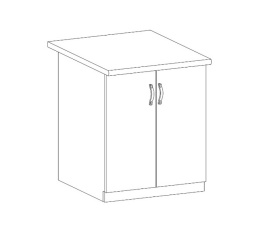 ROYAL  - dolní skříňka 60cm D60