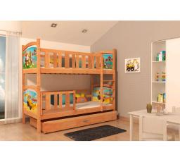 Dětská patrová postel TAMI - 190x80 cm