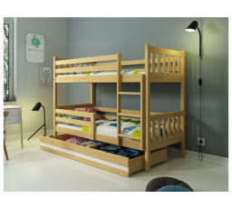 Patrová postel z masivu CARINO BUB
