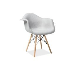 Jídelní židle BONO, šedá/buk