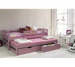 Dětská postel z masivu MARCEL II