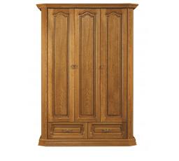 """KOLUMBUS (KINGA) šatní skříň dřevo D3-100 x 202 x 58 kolekce """"B"""" (K250-Z)"""