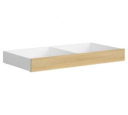 PRINCETON SZU/154 (šuplík pod postel) bílý lesk/dub polský (nagano)
