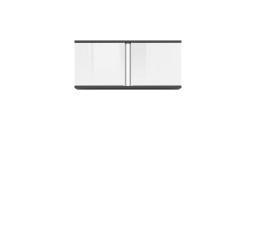 GRAPHIC (S343) SFW2D/86/38/C šedý wolfram/bílý lesk (laminát)
