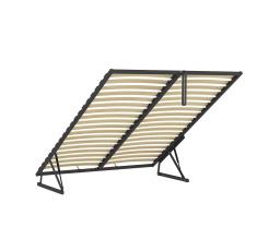 ERGO SPACE 140x200 - kovový rám s lamelami - sada pro vytvoření ÚP do čalouněných postelí Anadia, Casola, Molisa (FL10)
