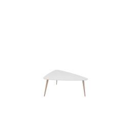 stolek TRIANGO S  bílý/dub sonoma (TX098/TX069)