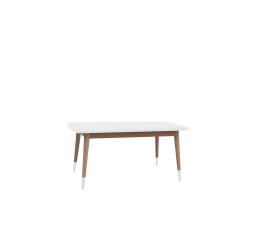 stolek LAWA 021 (TXL021)  bílá/buk přírodní (TX057/TX002)***