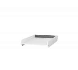 PIKOLINO 06 -PŘEBALOVAÍ PULT bílá se šedými elementy (PICOLO 06) (SZ) (K150-Z)