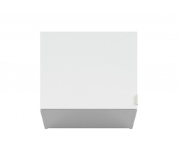 PRINCETON NAD/50 (nadstavec nad skříň) bílý lesk/šedá
