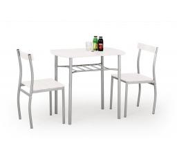 Jídelní set LANCE 1+2, Bílý