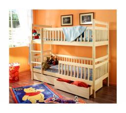 Dětská patrová postel z masivu ALEXANDR