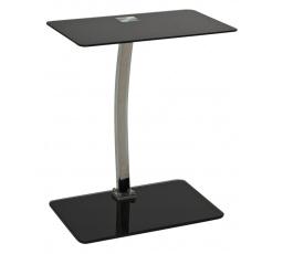 LIFTO ( LIFTOC )  odkládací stolek-sklo černé (S) (K150-Z)