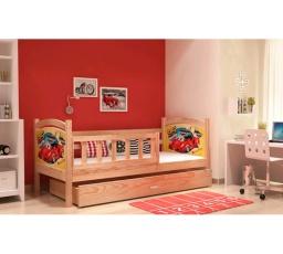 Dětská postel z masívu TAMI P 190x80 cm