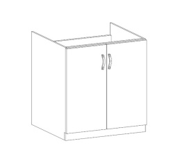 ROYAL  - dolní skříňka 80cm D80Z