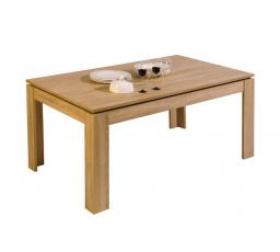 PIZA 68 - jídelní stůl rozkládací - dub Sonoma/černá stůl (P9DSPIS8) (MM)*** VÝPRODEJ - POSLEDNÍ KUS